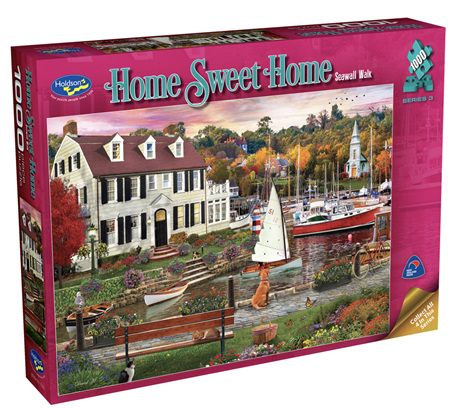 Holdson 1000 Piece Jigsaw Puzzle: Home Sweet Home S3 -  Seawall Walk