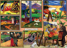 Holdson 1000  Piece Jigsaw Puzzle: In Gauguins Atelier
