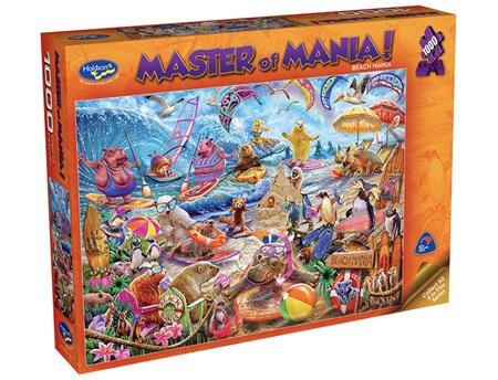Holdson 1000 Piece Jigsaw Puzzle: Master Of Mania - Beach Mania