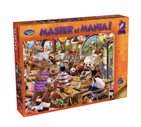 Holdson 1000 Piece Jigsaw Puzzle: Master Of Mania - Chef