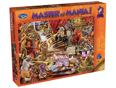 Holdson 1000 Piece Jigsaw Puzzle: Master Of Mania - Music