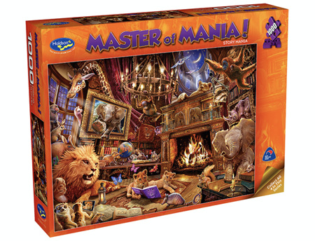 Holdson 1000 Piece Jigsaw Puzzle: Master Of Mania - Story Mania