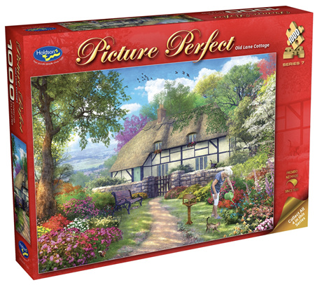 Holdson 1000 Piece Jigsaw Puzzle: Old Land Cottage