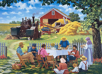 Holdson 1000 Piece Jigsaw Puzzle: Our Daily Bread