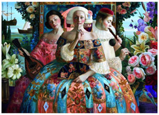 Holdson 1000 Piece Jigsaw Puzzle: Renaissance Realm 2 - The Secret