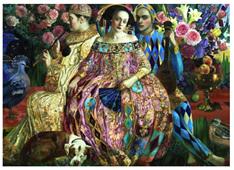 Holdson 1000 Piece Jigsaw Puzzle: Renaissance Realm 2 - Love Interest