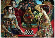Holdson 1000 Piece Jigsaw Puzzle: Renaissance Realm 2 - The Duel