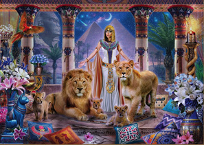 Holdson 1000 Piece Jigsaw Puzzle:  Egyptian Princess