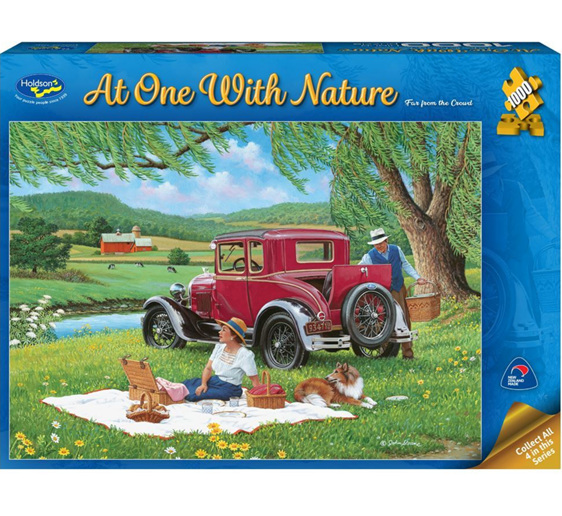 Holdson 1000 piece puzzle far From The Crowd buy at www.puzzlesnz.co.nz