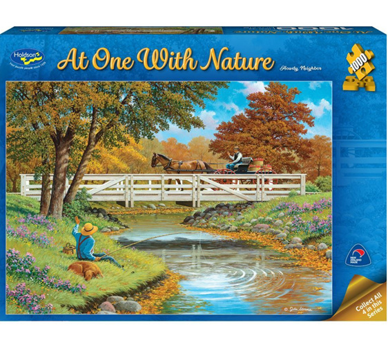 Holdson 1000 piece puzzle Howdy Neighbour buy at www.puzzlesnz.co.nz
