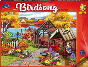Holdson 1000 Piece Jigsaw Puzzle:  Rustic Garden