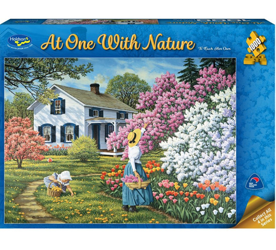 Holdson 1000 piece puzzle To each her own buy at www.puzzlesnz.co.nz