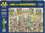 Holdson 1000 piece puzzle Van Haasterten Library buy at www.puzzlesnz.co.nz