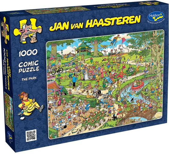 Holdson 1000 piece puzzle Van Haasterten The Park buy at www.puzzlesnz.co.nz
