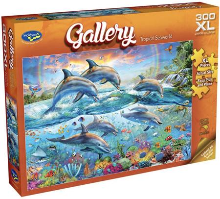 Holdson 300 XL Piece Jigsaw Puzzle: Tropical Seaworld