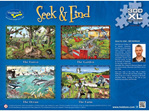 Holdson 300XL Piece Jigsaw Puzzle: Seek & Find The Forest at www.puzzlesnz.co.nz