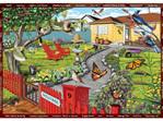 Holdson 300XL Piece Jigsaw Puzzle: Seek & Find The Garden at www.puzzlesnz.co.nz