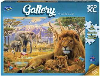 Holdson's 300XL Piece Jigsaw Puzzle: African Savannah