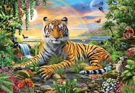 Holdson's 300XL Piece Jigsaw Puzzle: King Of The Jungle