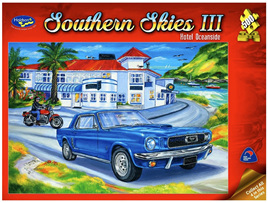Holdson 500 Piece Jigsaw Puzzle Hotel Oceanside