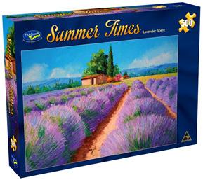Holdson 500  Piece Jigsaw Puzzle:  Lavender Scent