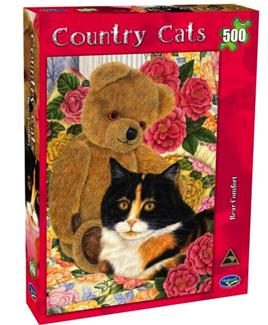 Holdson 500  Piece Jigsaw Puzzle:  Bear Comfort