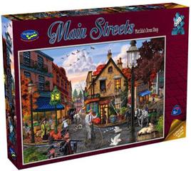 Holdson 500  Piece Jigsaw Puzzle: Matilda's Dress Shop