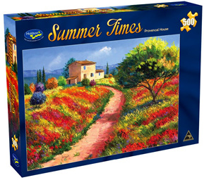 Holdson 500  Piece Jigsaw Puzzle:  Provencal House