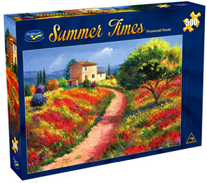 Holdson 500  Piece Jigsaw Puzzle:  Provencal House