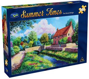 Holdson 500  Piece Jigsaw Puzzle:  The Stone Bridge