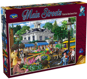 Holdson 500  Piece Jigsaw Puzzle:  Victorian Rose General Store