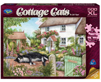 Holdson 500 XL Piece Jigsaw Puzzle: The Gate Keeper