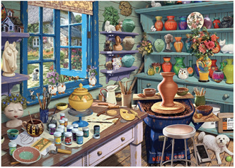 Holdson's 500 XL Piece Jigsaw Puzzle  The Potting Shed