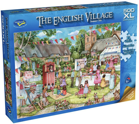Holdson 500XL Piece  Jigsaw Puzzle: Summer Fete