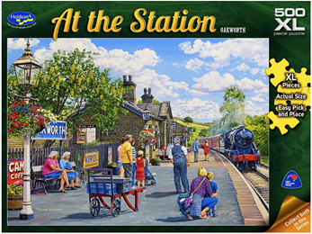 Holdson's 500XL Piece Jigsaw Puzzle: Oakworth