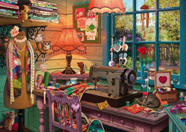 Holdson's 500 XL Piece Jigsaw Puzzle  The Sewing Shed
