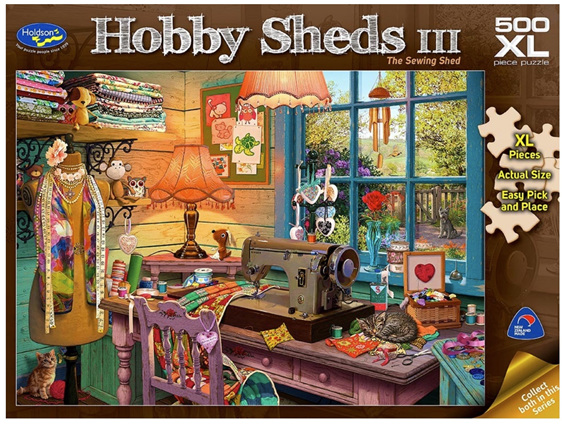 Holdson 500XL piece puzzle The Sewing Shed buy at www.puzzlesnz.co.nz