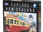 Holdson Explore NZ 100 Piece Jigsaw Puzzle: Christchurch Tram