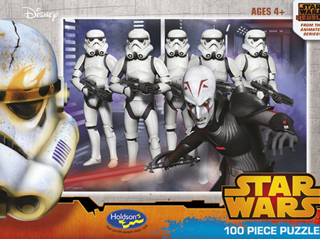 Holdson Star Wars Rebels Galactic Empire - 100pc Boxed
