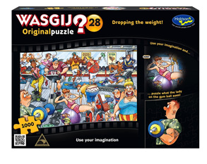 Holdson Wasgij 1000 Piece Jigsaw Puzzle: Dropping The Weight