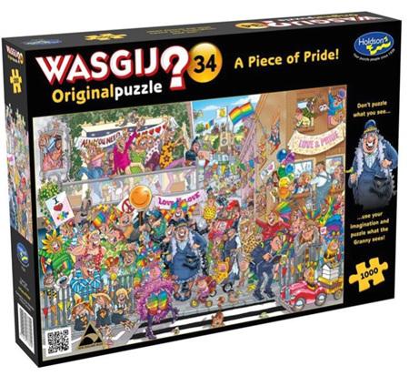 Holdson Wasgij 1000 Piece Jigsaw Puzzle: Piece Of Pride
