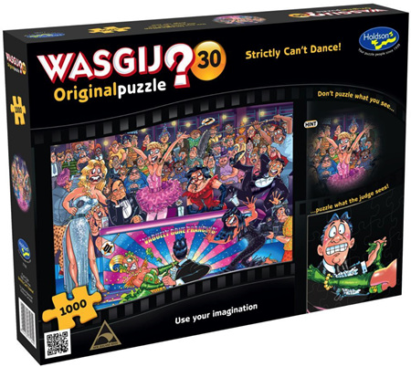 Holdson Wasgij 1000 Piece Jigsaw Puzzle: Strictly Can't Dance