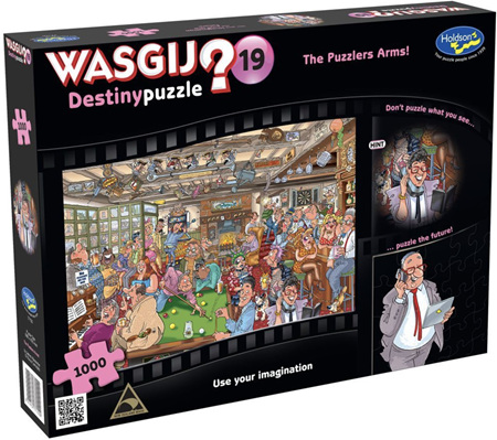Holdson Wasgij 1000 Piece Jigsaw Puzzle: The Puzzlers Arms