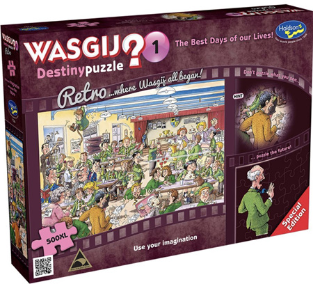 Holdson Wasgij 500XL Piece Jigsaw Puzzle: Best Days Of Our Lives