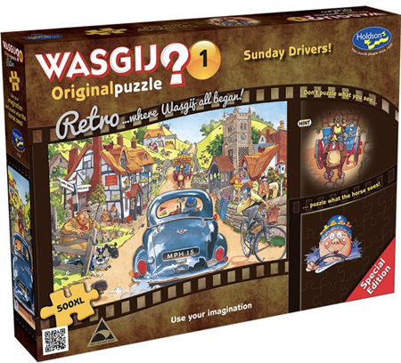 Holdson Wasgij 500XL Piece Jigsaw Puzzle: Sunday Drivers