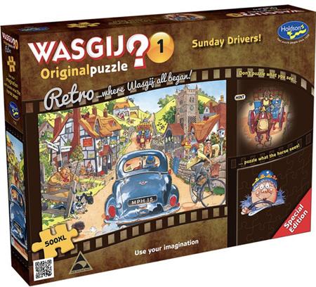Holdson Wasgij 500XL Piece Jigsaw Puzzle: Sunday Drivers