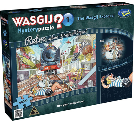 Holdson Wasgij 500XL Piece Jigsaw Puzzle: The Wasgij Express