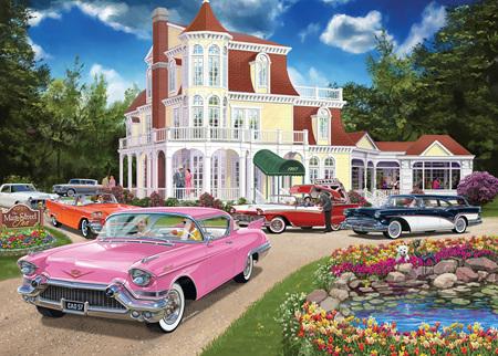 Holdson's 1000 Piece Jigsaw Puzzle:  American Inn