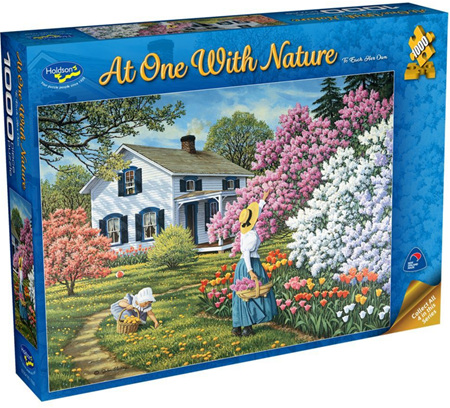 Holdson's 1000 Piece Jigsaw Puzzle:  At One With Nature - To Each Her Own