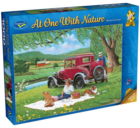 Holdson's 1000 Piece Jigsaw Puzzle:  At One With Nature - Far From The Crowd
